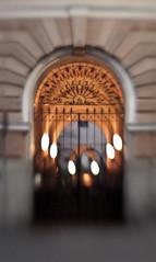 7 (miemo) Tags: door city building lensbaby finland evening helsinki gate europe bokeh corridor f28 kruununhaka composer singleglass gettyimagesfinlandq1
