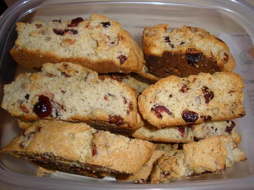 Cranberry Biscotti