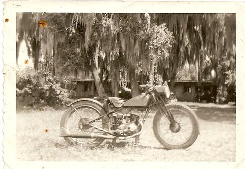 My 1948 Harley Hummer