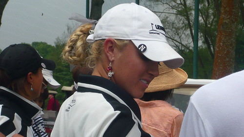 Natalie Gulbis, close up