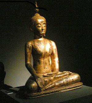 Un buddha di tradizione thailandese