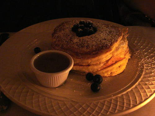 Blueberry Pancakes from Clinton Street Baking Co