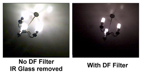 DF Filter Test - CFL Lights