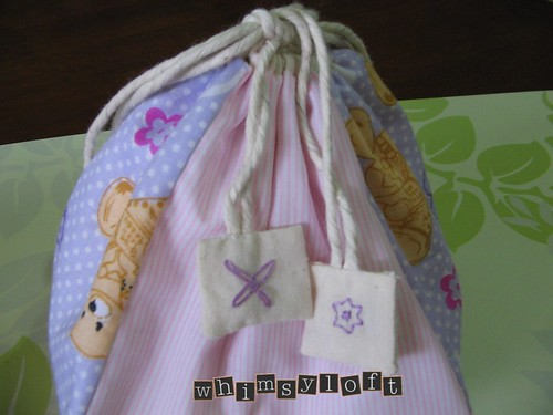 Purple Teddies Drawstring 2