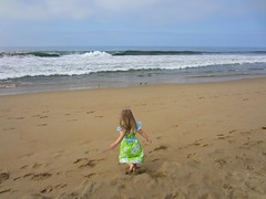1st time at the Pacific Ocean (Newport Beach, CA ,May 2011)