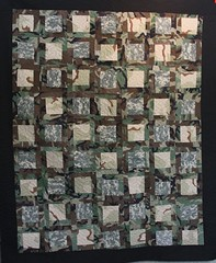 Military Memory Quilt, army quilt