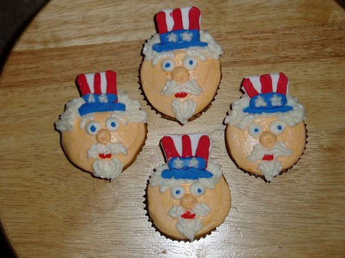 35fc182e53 USA Memorial Day American Independence Day Cupcakes