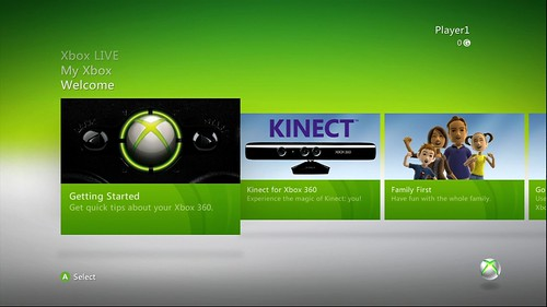 Sample Xbox 360 screen capture