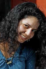 Dalia 110413-152631 C4e (Wambeke & Wambeke Photography, Art, & Textiles) Tags: curlyhair dalia prettywoman womansmiling delmyssacramento