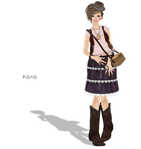 *.:[K]:.* wrinkles skirt (purple)