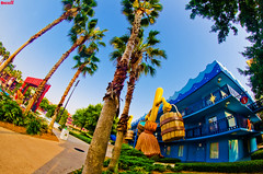 All Star Movies Resort (Tom.Bricker) Tags: disney fisheye disneyworld mickeymouse waltdisneyworld waltdisney disneyphotos disneyphotography wdwfigment tombricker disneyfisheye