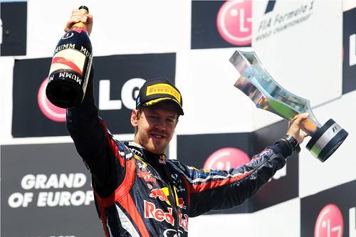GP da Europa - Vettel vence em Valência