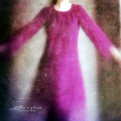 The Burgundy Dress (Milla's Place) Tags: portrait woman blur me self dress burgundy textures havingfun millasplace theartofselfportraiture iphoneography susantuttleclass