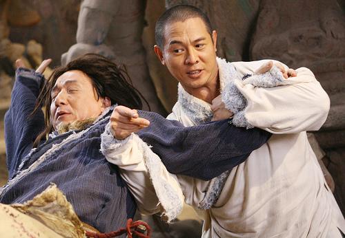 Jet Li and Jackie Chan