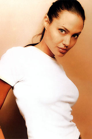 Angelina Jolie - iPhone wallpaper and iPod Touch background