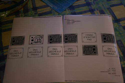 Making PCBs at home, Step 2: Print