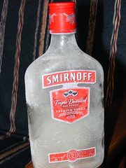 Frozen vodka