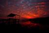 Sunset on Sajkod beach (kenyai) Tags: sunset lake lago hungary tramonto naplemente acqua balaton ungheria tihany 10mm canonefs1022mmf3545usm canon30d interestingness28 i500 sajkod