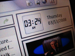Nokia 770 Screen Detail