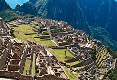 Machu Picchu Close-Up