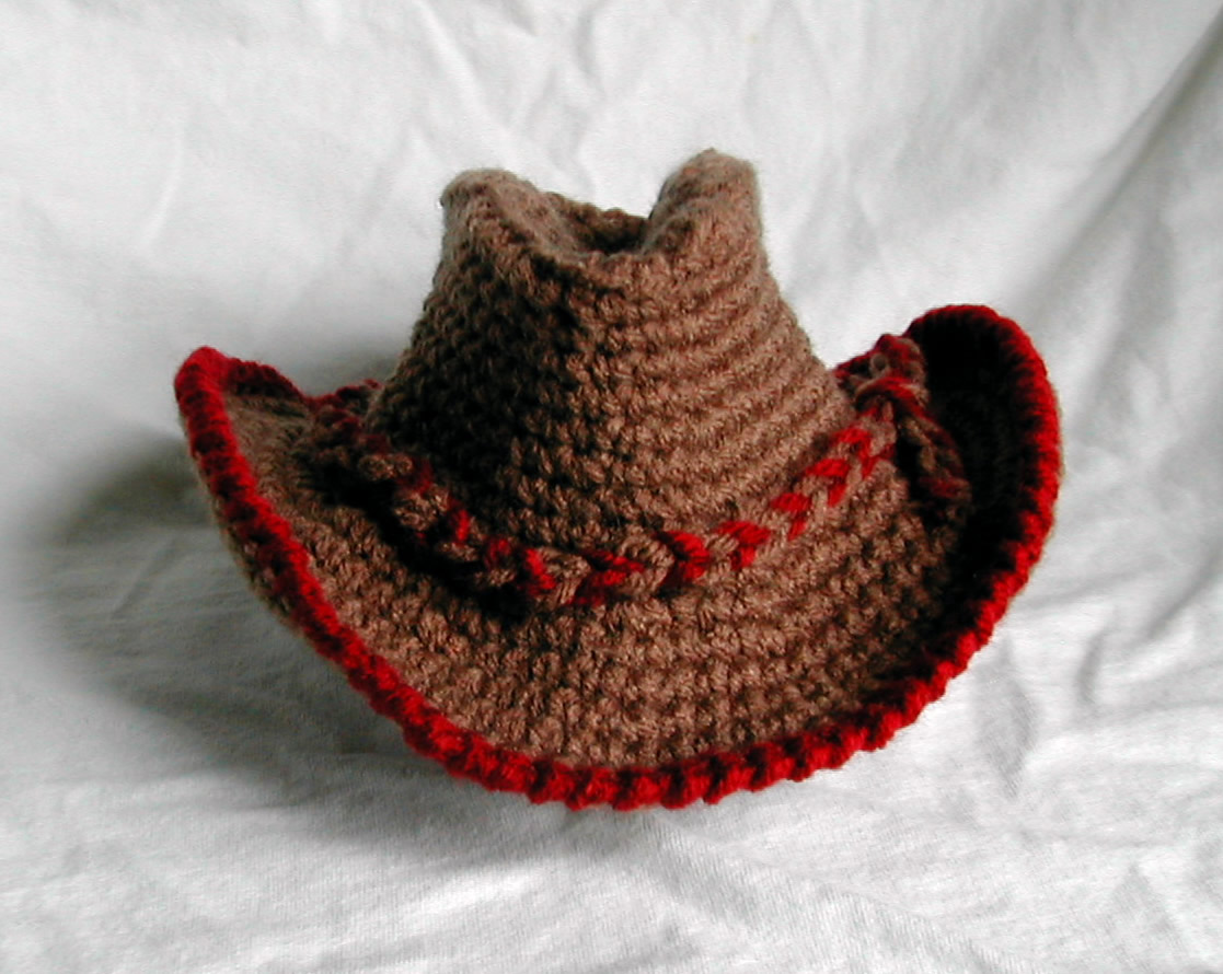 Crochet Cowboy Hat Pattern Crochet Patterns