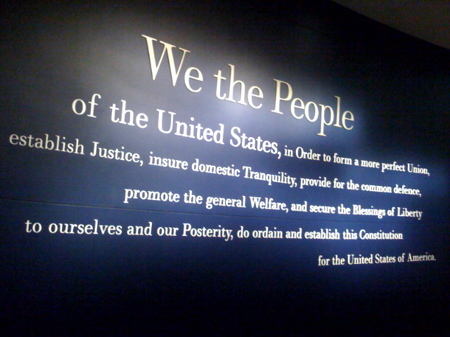 Constitution Center Wall