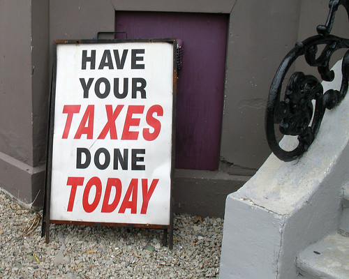 get your taxes done