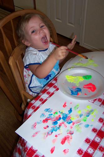 Crazy little artist!