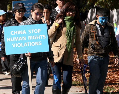 China stop human rights violations by mickeylieu, on Flickr