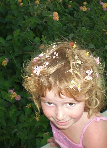 80 flower girl