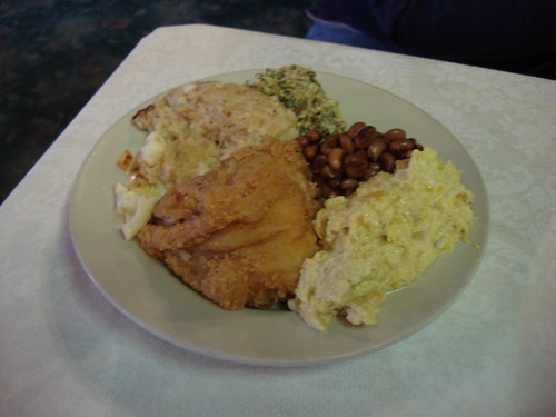 Supper at Hotel Talisi, Tallassee Alabama