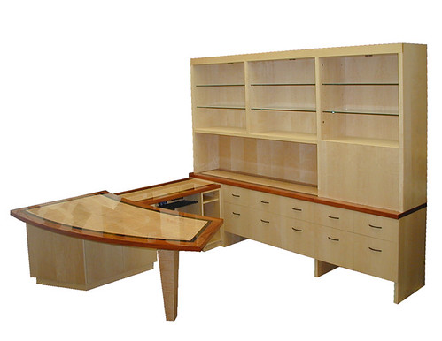 executive desk and return