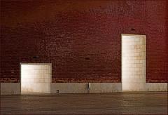 Two doors (AnyMotion) Tags: travel building portugal architecture reisen lisboa lisbon architektur lissabon 2008 parquedasnaes anymotion flickrsbest fineartphotos mywinners anawesomeshot ilustrarportugal