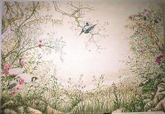 tela japan (pandecora (interior decorative painter)) Tags: art japan painting stencil paint colore arte decoration trompeloeil trompe decorazione restauro pittura interiordecorator decorazionepittorica riproduzioni decoratore decorazionedinterni