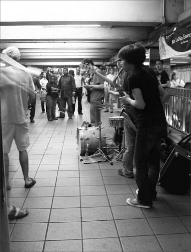 Jazz at Penn station