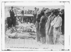 Victims - Collapsed Pier - Eagle Park  (LOC) (The Library of Congress) Tags: buildings death pier boat parks accidents tragedy collapse libraryofcongress 1912 oceans bodies victims collapsed disasters deaths niagarariver eaglepark xmlns:dc=httppurlorgdcelements11 dc:identifier=httphdllocgovlocpnpggbain11315 june241912