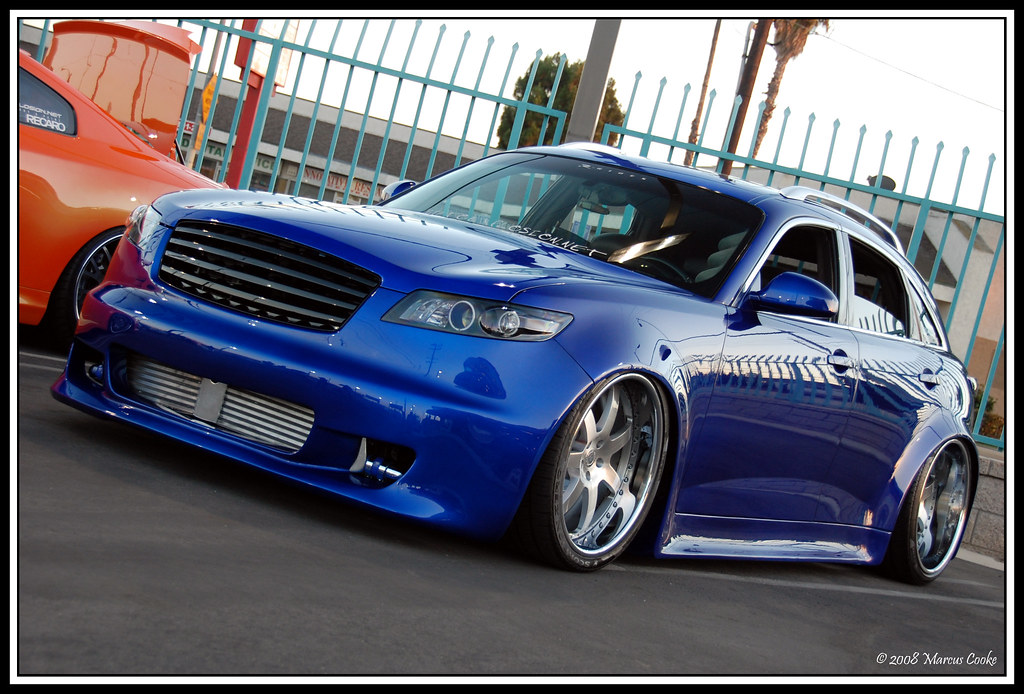 Sick Infiniti FX45 TT All Custom Widebody/kit Pics/Vid/Time slip - my.