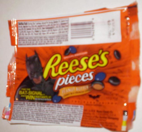 Batman Reese's Pieces promoting The Dark Knight movie