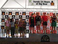 SSO Ladies  on the podium