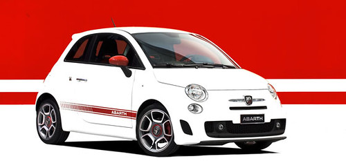 TopGear take a gander at the Fiat 500 Abarth