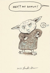 Yoda sketchbook page 71 - Miss Lasko-Gross