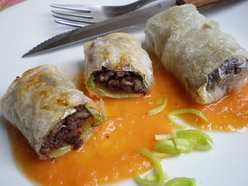 Black Pudding Rolls