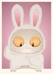 gato por liebre (:raeioul) Tags: bunny cat www gato liebre raeioul raeioucom
