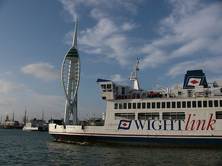 spinnaker and ferry