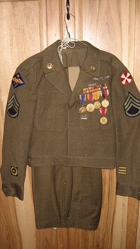 Grandpa Pete's WWII Uniform