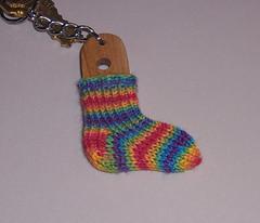 The last Sock Keychain