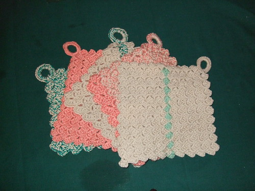 Five Crazy Cloth dishcloths