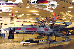 It's An X-Wing Fighter ! (thegreatlandoni) Tags: museum starwars xwingfighter wingsovertherockies