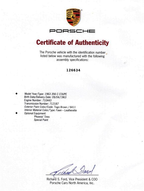 Porsche356registry org • View topic - Transmission number
