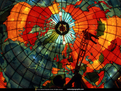 National Geographic Wallpaper - Christian Science Mapparium